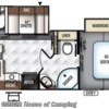 2017 Forest River Rockwood Ultra Lite 2604WS floorplan image