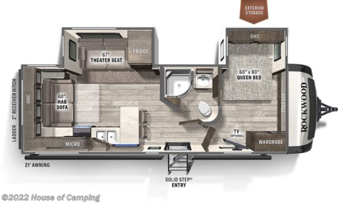New 2021 Forest River Rockwood Ultra Lite 2613BS For Sale by House of Camping available in Bridgeview, Illinois