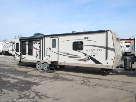 New 2017 Forest River Rockwood Signature Ultra Lite 8329SS SIGNATURE For Sale by House of Camping available in Bridgeview, Illinois