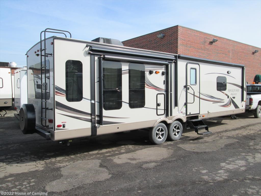 Rb201730990 2017 Forest River Rockwood Signature Ultra Lite 8329ss Wiring Diagram Travel Trailer New In Bridgeview Il