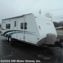 2004 Fleetwood Caravan MICRO Lite  - Travel Trailer Used  in Canton MI For Sale by HW Motor Homes, Inc. call 877-370-6402 today for more info.