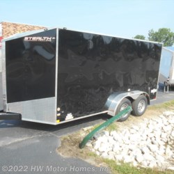 2018 Stealth Titan 714 Mustang  - DOUBLE DOOR - Wedge - 7' Tall  - Cargo Trailer New  in Canton MI For Sale by HW Motor Homes, Inc. call 877-370-6402 today for more info.