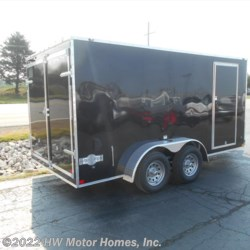 HW Motor Homes, Inc. 2018 Titan 714 Mustang  - DOUBLE DOOR - Wedge - 7' Tall  Cargo Trailer by Stealth | Canton, Michigan