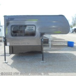 2019 Travel Lite Super Lite 625  - .040 CHARCOAL  - Truck Camper New  in Canton MI For Sale by HW Motor Homes, Inc. call 877-370-6402 today for more info.