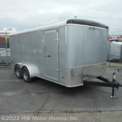 HW Motor Homes, Inc. 2015 Titan 716 - S.E.Round Top & Nose  Cargo Trailer by Stealth | Canton, Michigan
