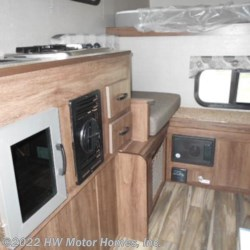 2018 Travel Lite 770  RSL - Shower -.040 Charcoal Ext.  - Truck Camper New  in Canton MI For Sale by HW Motor Homes, Inc. call 877-370-6402 today for more info.