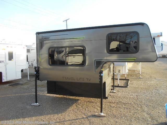 2019 Travel Lite Rv Truck Campers Super Lite 700 Sofa
