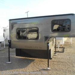 New 2019 Travel Lite Truck Campers Super  Lite  700 - Sofa - CHARCOAL For Sale by HW Motor Homes, Inc. available in Canton, Michigan