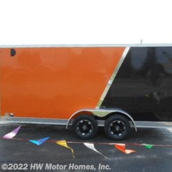 "2019 Impact Trailers Shockwave 716 - Two  Tone -  6 ' 6 "" Interior  - Cargo Trailer New  in Canton MI For Sale by HW Motor Homes, Inc. call 800-334-1535 today for more info."