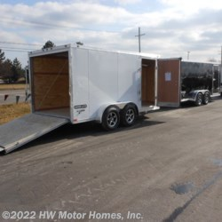 HW Motor Homes, Inc. 2016 Super Lite Aluminum - 714 TA  Cargo Trailer by Stealth | Canton, Michigan