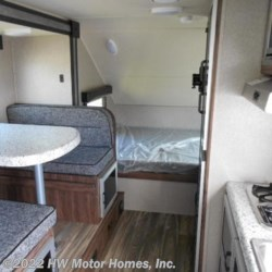 2018 Travel Lite FALCON  21 RB - G. T. Series -  Dinette Slide  - Travel Trailer New  in Canton MI For Sale by HW Motor Homes, Inc. call 800-334-1535 today for more info.