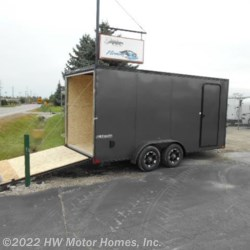 2019 Impact Trailers Tremor 716 Black-Out Pkg.  7' tall  - Cargo Trailer New  in Canton MI For Sale by HW Motor Homes, Inc. call 800-334-1535 today for more info.