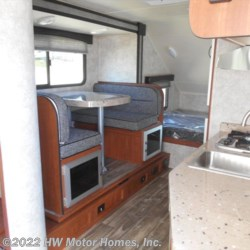 2017 Travel Lite FALCON  24 BH - Dinette Slide  - Travel Trailer New  in Canton MI For Sale by HW Motor Homes, Inc. call 800-334-1535 today for more info.