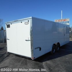 "HW Motor Homes, Inc. 2018 Tremor 8524  Car  Hauler  -  6 ' 6 "" Interior  Cargo Trailer by Impact Trailers 