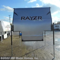 2019 Travel Lite Rayzr F B   Front  Bed - new Greyhound Metal  - Truck Camper New  in Canton MI For Sale by HW Motor Homes, Inc. call 800-334-1535 today for more info.