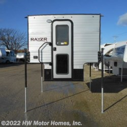 HW Motor Homes, Inc. 2019 Rayzr F B   Front  Bed - new Greyhound Metal  Truck Camper by Travel Lite | Canton, Michigan