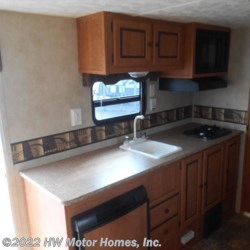 2014 Palomino Canyon Cat 17QBC  - Travel Trailer Used  in Canton MI For Sale by HW Motor Homes, Inc. call 800-334-1535 today for more info.