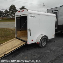 2017 Haulmark Haulmark Light Cargo 5x8  - Cargo Trailer Used  in Canton MI For Sale by HW Motor Homes, Inc. call 800-334-1535 today for more info.