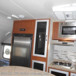 2017 Travel Lite FALCON  21 RB - Dinette Slide  - Travel Trailer New  in Canton MI For Sale by HW Motor Homes, Inc. call 800-334-1535 today for more info.