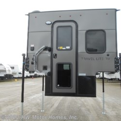 HW Motor Homes, Inc. 2020 Super Lite 625  - .040 CHARCOAL Ext.  Truck Camper by Travel Lite | Canton, Michigan