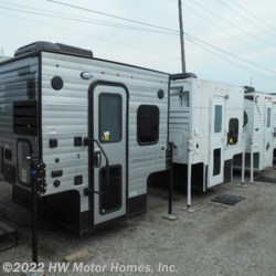 2019 Travel Lite Super Lite 625  -  Greyhound Silver Ext.  - Truck Camper New  in Canton MI For Sale by HW Motor Homes, Inc. call 800-334-1535 today for more info.