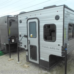 HW Motor Homes, Inc. 2019 Super Lite 625  -  Greyhound Silver Ext.  Truck Camper by Travel Lite | Canton, Michigan
