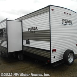 HW Motor Homes, Inc. 2020 Puma XLE Lite 27RBQC - Double Double B.H. - Superslide  Travel Trailer by Palomino | Canton, Michigan