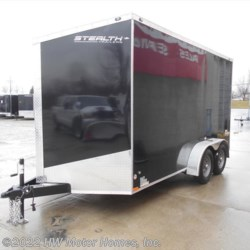 HW Motor Homes, Inc. 2017 Titan TITAN  SE 714  -  7'  Height  -  Ramp  Cargo Trailer by Stealth | Canton, Michigan