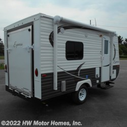 2017 Travel Lite Express E 16 TH  - Toy Hauler New  in Canton MI For Sale by HW Motor Homes, Inc. call 800-334-1535 today for more info.