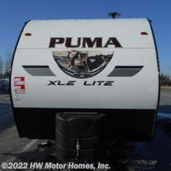 HW Motor Homes, Inc. 2020 Puma XLE 25 TFC  Toy Hauler by Palomino | Canton, Michigan