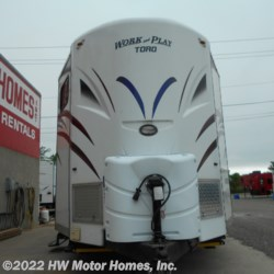 2014 Forest River Work and Play 21VFB  - Toy Hauler Used  in Canton MI For Sale by HW Motor Homes, Inc. call 800-334-1535 today for more info.
