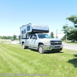 HW Motor Homes, Inc. 2020 Truck Campers 770 RSL , Grey Hound ' Silver '  Truck Camper by Travel Lite | Canton, Michigan