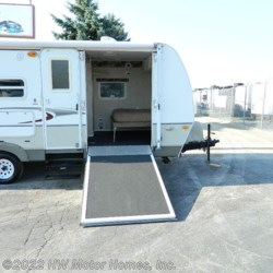 2008 Keystone Outback 23KRS  - Toy Hauler Used  in Canton MI For Sale by HW Motor Homes, Inc. call 800-334-1535 today for more info.