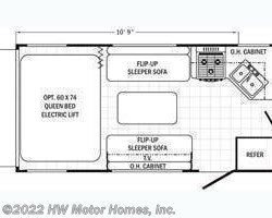 2015 Palomino Canyon Cat 21TUC floorplan image
