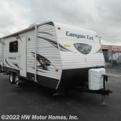 2015 Palomino Canyon Cat 21TUC  - Toy Hauler Used  in Canton MI For Sale by HW Motor Homes, Inc. call 800-334-1535 today for more info.