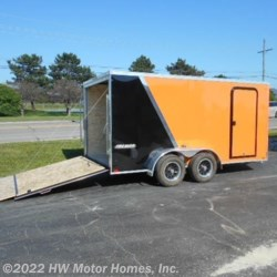 HW Motor Homes, Inc. 2019 Shockwave 714 - Two  Tone  Cargo Trailer by Impact Trailers | Canton, Michigan