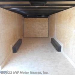 "HW Motor Homes, Inc. 2018 Tremor 8524  Car  Hauler  -  6 ' 6 "" Interior  Car Hauler Trailer by Impact Trailers 