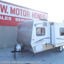 2013 Skyline Bobcat 173 series -  Sofa Slide - 7 ' Wide  - Travel Trailer Used  in Canton MI For Sale by HW Motor Homes, Inc. call 800-334-1535 today for more info.