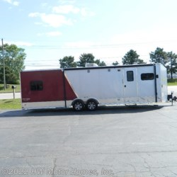 2015 Stealth 8528 Northwood - Aluminum  - Toy Hauler Used  in Canton MI For Sale by HW Motor Homes, Inc. call 800-334-1535 today for more info.