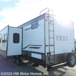 HW Motor Homes, Inc. 2020 Puma 28DBFQ  Travel Trailer by Palomino | Canton, Michigan
