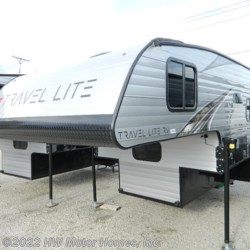 New 2020 Travel Lite Truck Campers 840 SBRX For Sale by HW Motor Homes, Inc. available in Canton, Michigan
