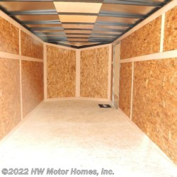 HW Motor Homes, Inc. 2020 - QUAKE  716 Ramp  Cargo Trailer by Impact Trailers | Canton, Michigan