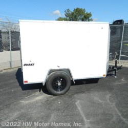 HW Motor Homes, Inc. 2020 - QUAKE  58 Ramp  Cargo Trailer by Impact Trailers | Canton, Michigan
