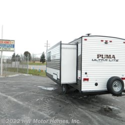 HW Motor Homes, Inc. 2020 Puma Ultra Lite 18SSX  Travel Trailer by Palomino | Canton, Michigan