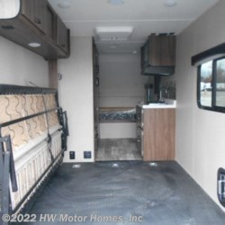 2019 Travel Lite Falcon A U R A 23 TH  - Toy Hauler New  in Canton MI For Sale by HW Motor Homes, Inc. call 800-334-1535 today for more info.