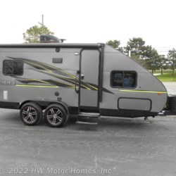HW Motor Homes, Inc. 2020 Falcon F-23TH  Toy Hauler by Travel Lite | Canton, Michigan