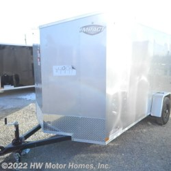 HW Motor Homes, Inc. 2021 Quake 612  -  Ramp  Cargo Trailer by Impact Trailers | Canton, Michigan