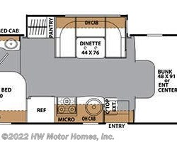 2016 Coachmen Prism 2150 LE floorplan image