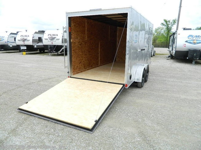 2021 Impact Trailers - QUAKE  716 Ramp  7' Tall Int. - New Cargo Trailer For Sale by HW Motor Homes, Inc. in Canton, Michigan