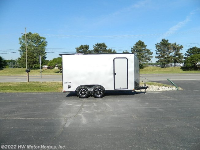 New 2021 Impact Trailers SHOCKWAVE UTV access DOOR available in Canton, Michigan